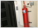 Telecity Meridian Gate: Fire Suppression